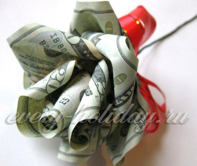 Деньги своими руками на день рождения