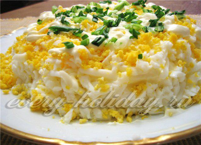 рецепты салатов из недорогих и доступных продуктов