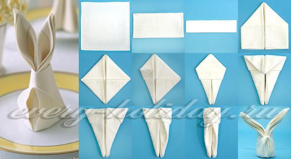 Как сделать украшения из бумажных салфеток на стол