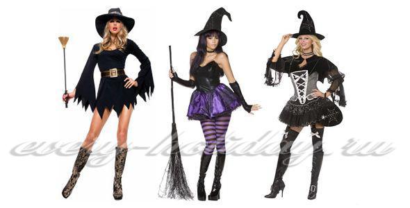Как сделать своими руками костюм ведьмы на хэллоуин своими руками фото 455