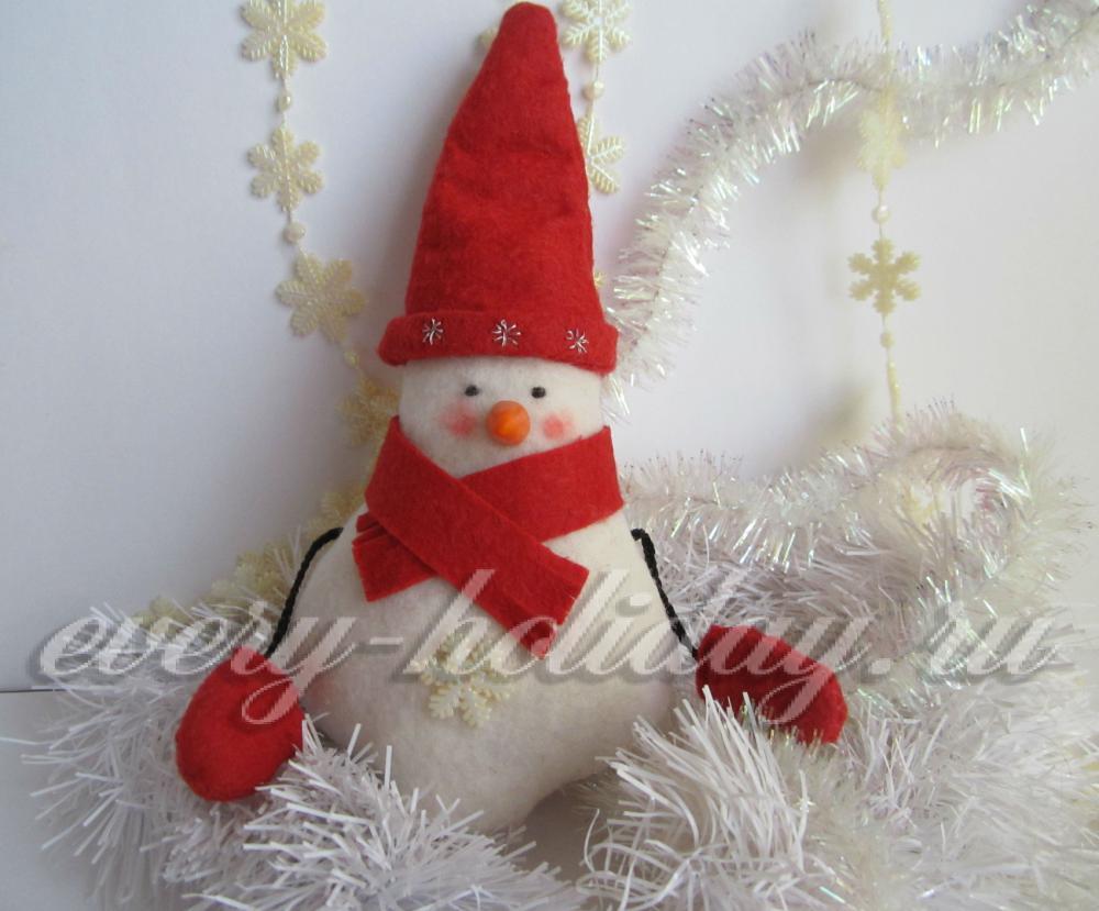 Снеговик сделанный своими руками фото 976