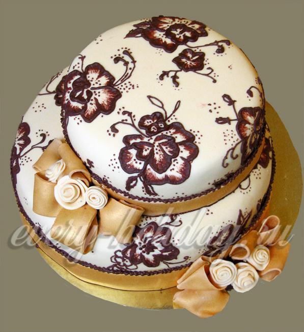 Как украсить домашний торт медовик в домашних условиях