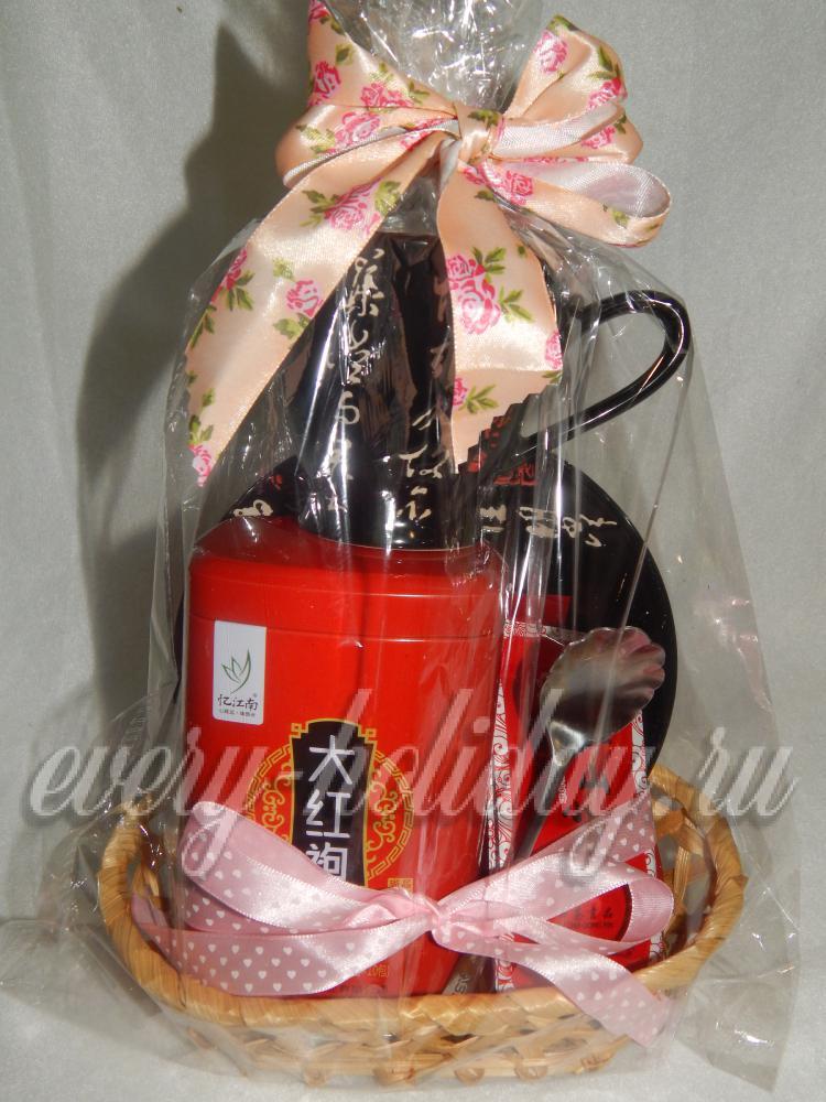 Упакованный чай своими руками в подарок 311