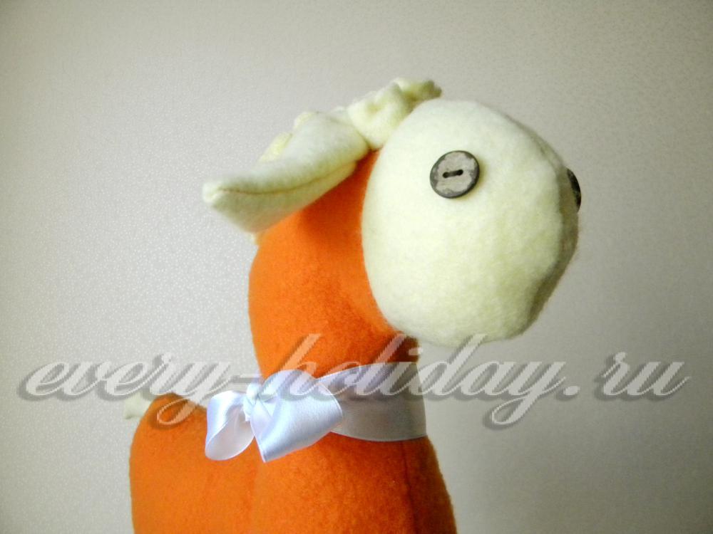 Мягкая овечка своими руками