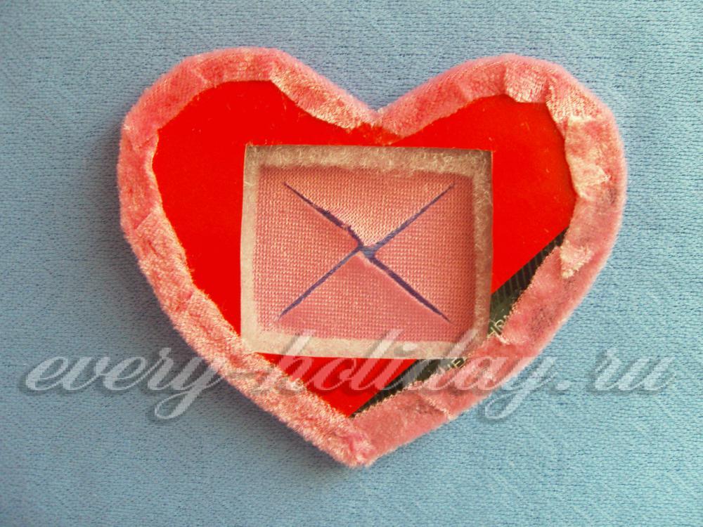 Сердце в рамке своими руками 23