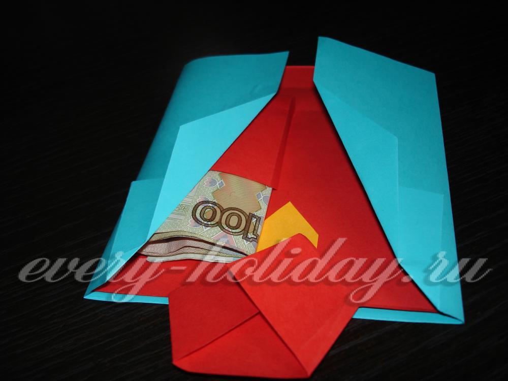 Открытка рубашка с галстуком своими руками пошаговая инструкция с фото 70