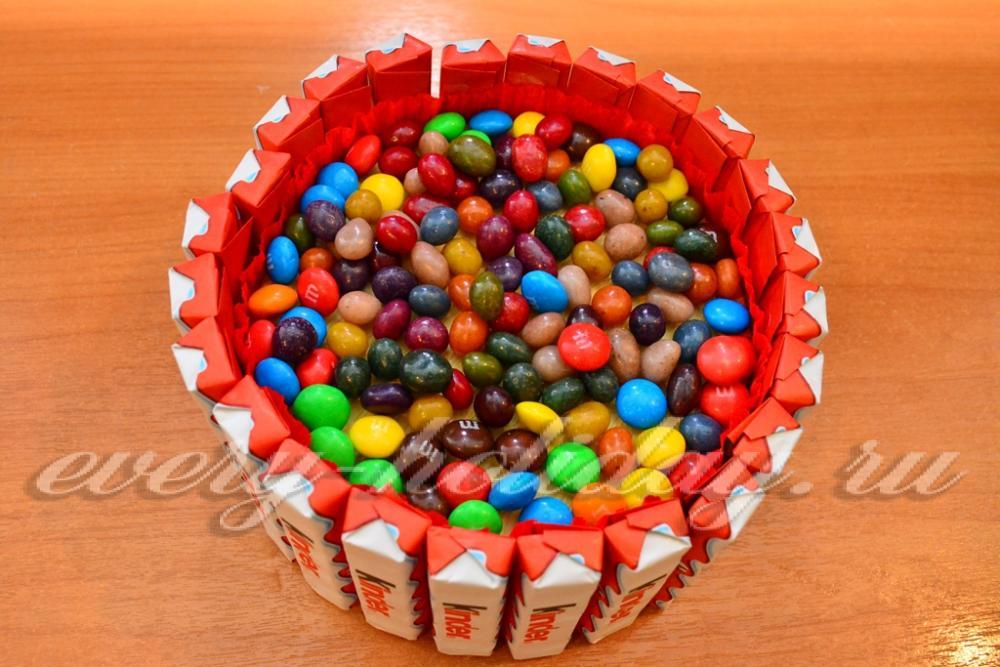 Как сделать конфеты из шоколада киндер
