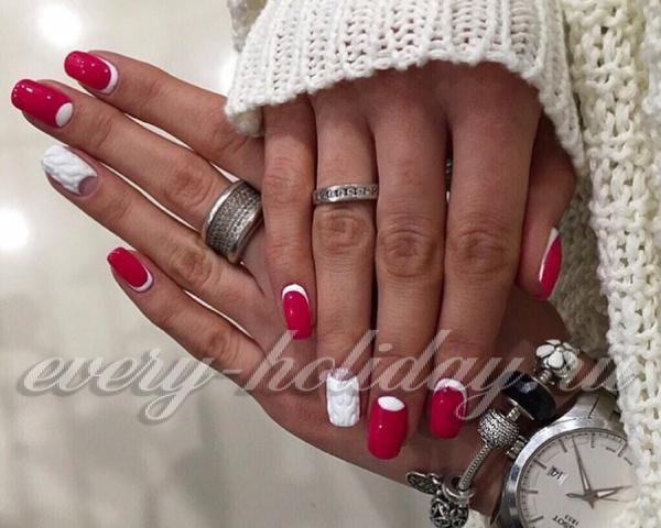 Дизайн ногтей гель фото новинки 2016 зима фото