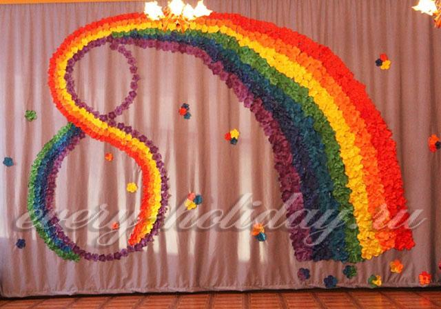 Как украсить группу в детском саду своими руками к 8 марта - Sertkom.ru