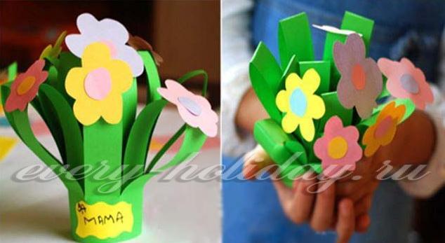 Подарок для мамы своими руками на 8 марта