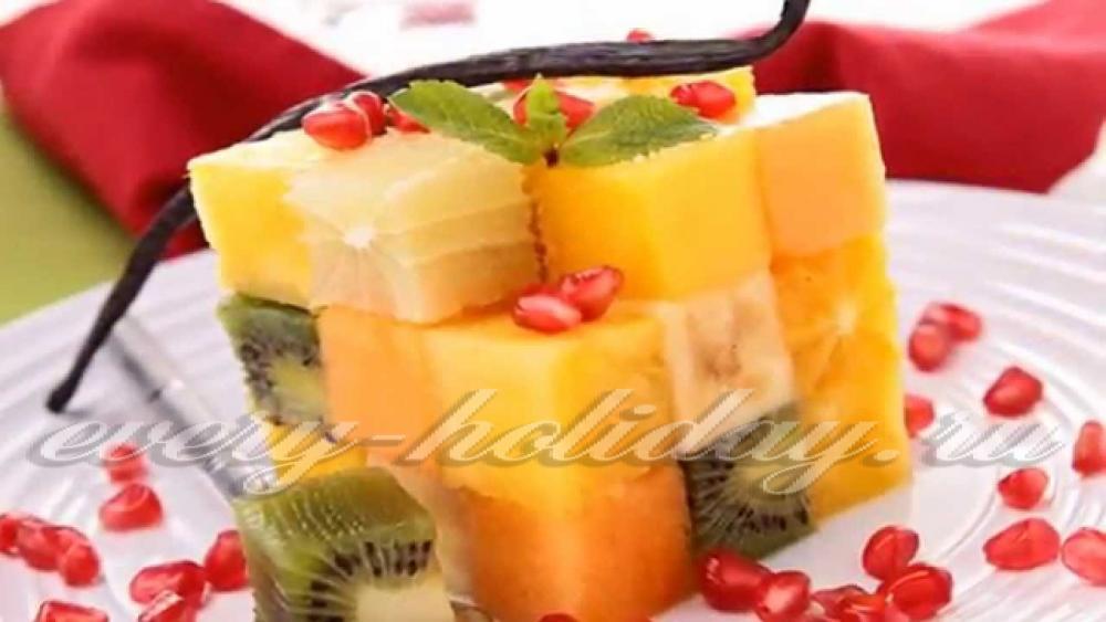 Мастер класс красиво подать фрукты на стол 71