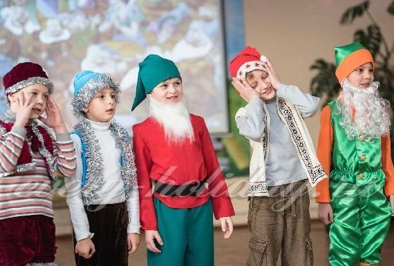 сценарий новогодней театрализованной сказки для детей 2016