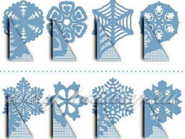Снежинки из бумаги своими руками бесплатно