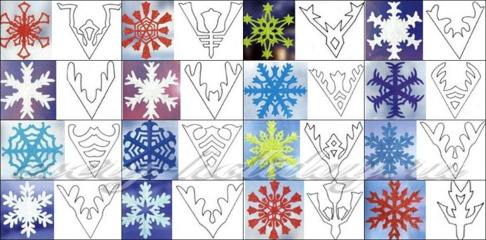 Как сделать из бумаги все снежинку 468