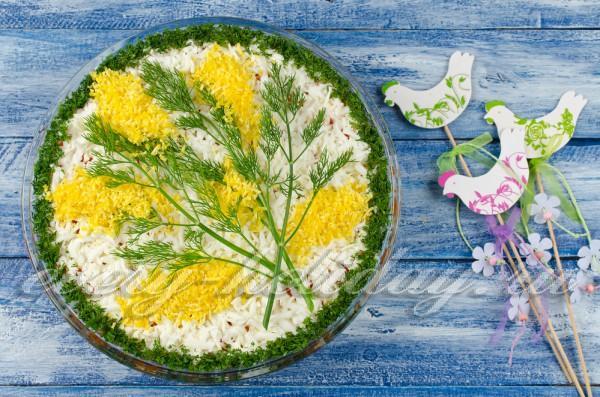 Салаты рецепты с фото-му марта