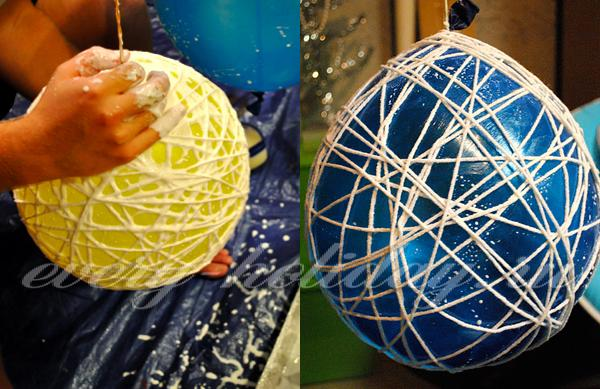 Китайские шары своими руками мастер класс