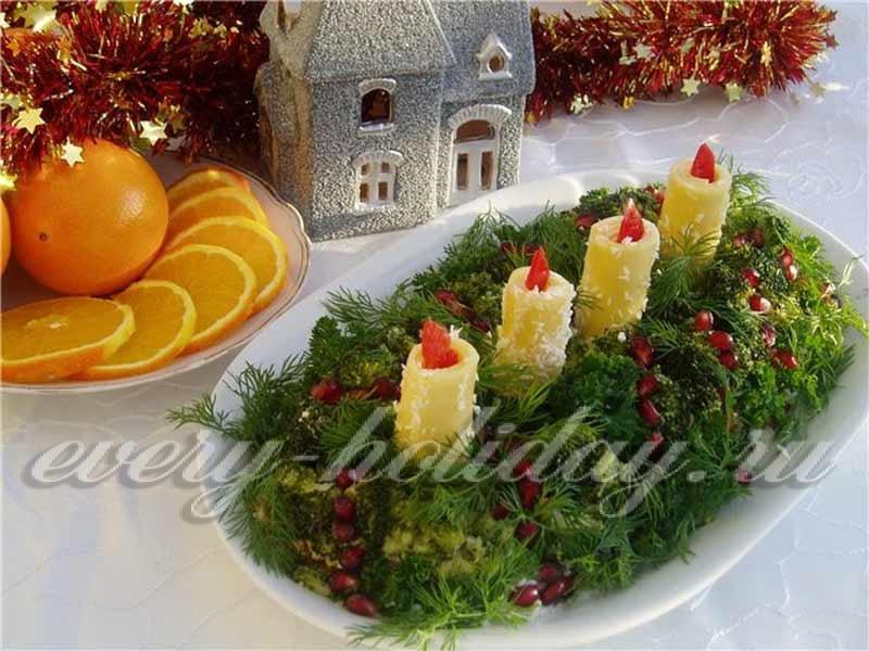 Салатики на новый год рецепты с фото