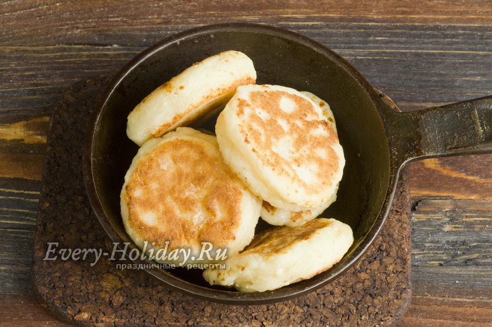 Сырники из творога рецепт с пошагово на сковороде пышные