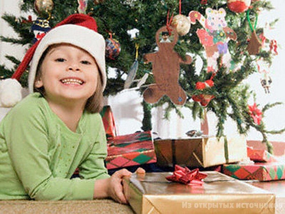 Новогодние подарки для ребенка 2 лет 122