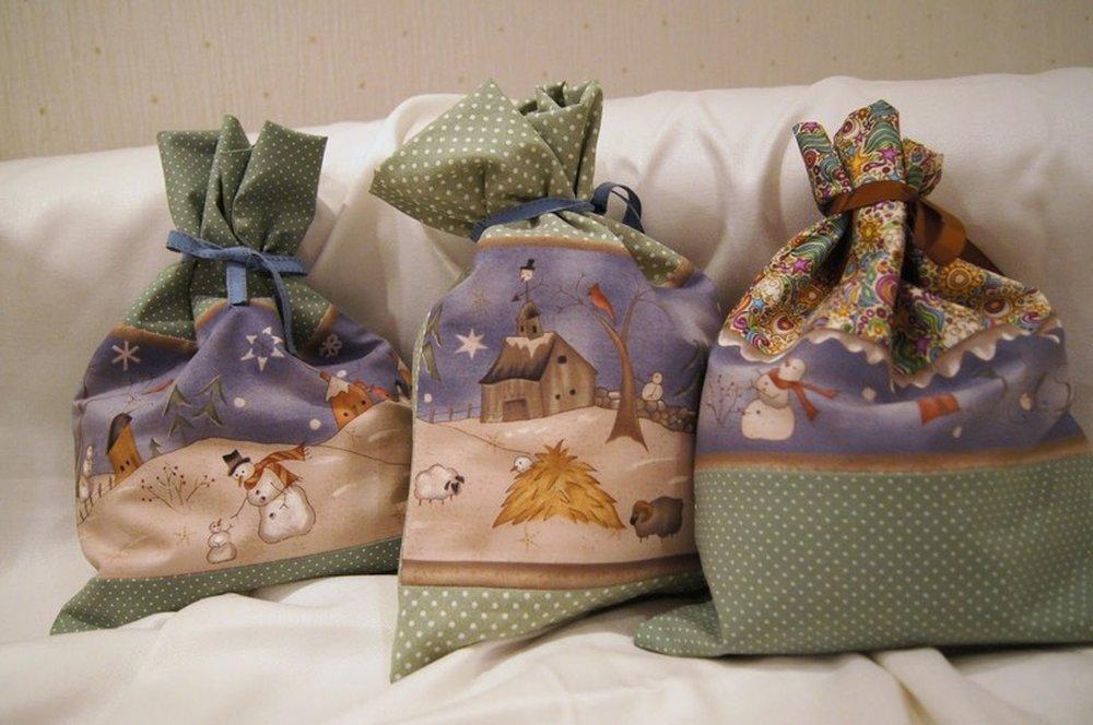 Своими руками мешочки для подарков