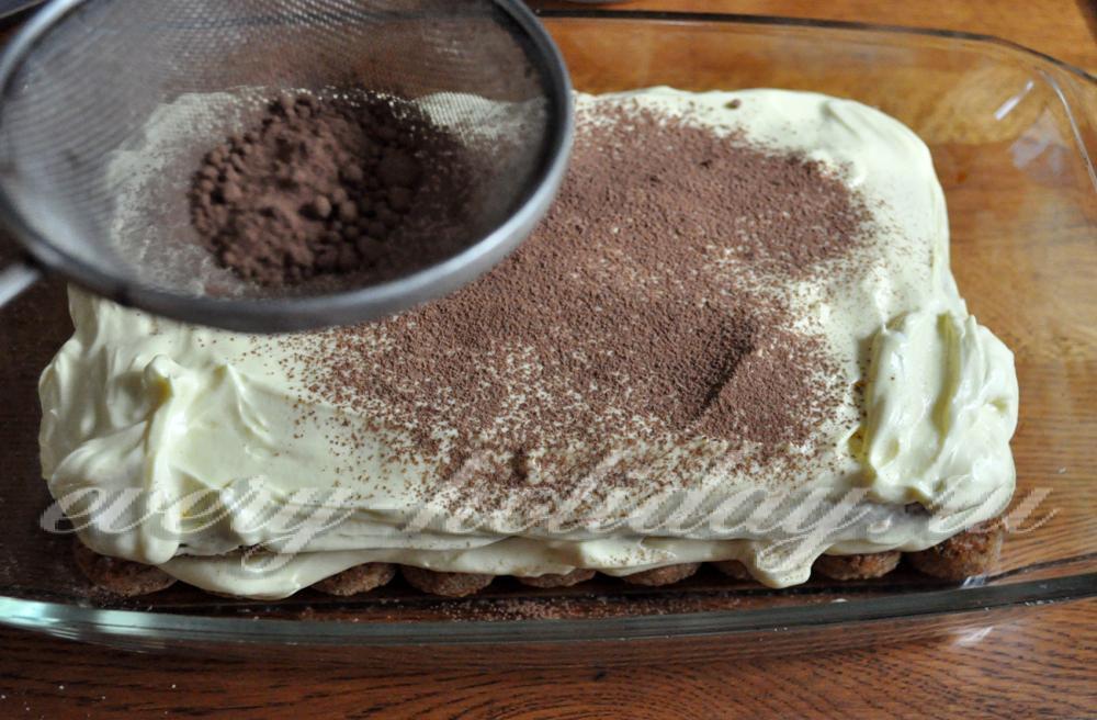 Рецепт торта тирамису с маскарпоне в домашних условиях 355