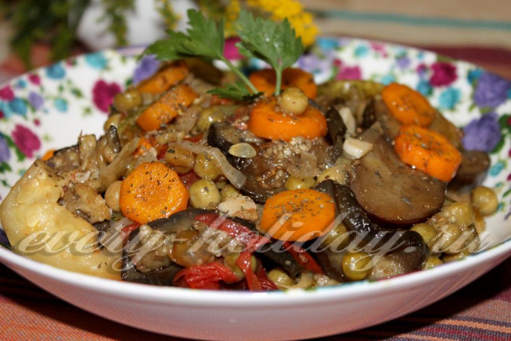 Рецепт приготовления соте из овощей
