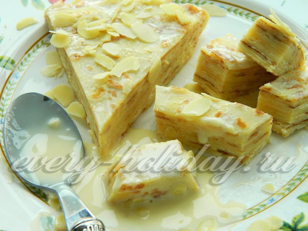 рецепт крема для торта из блинов