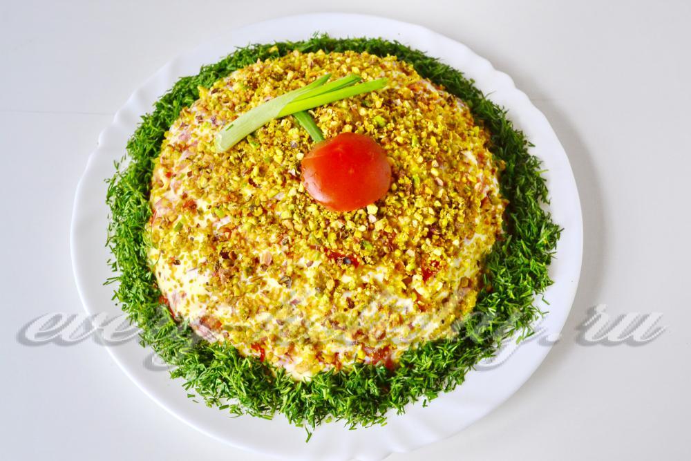 салат с фисташками рецепт с фото