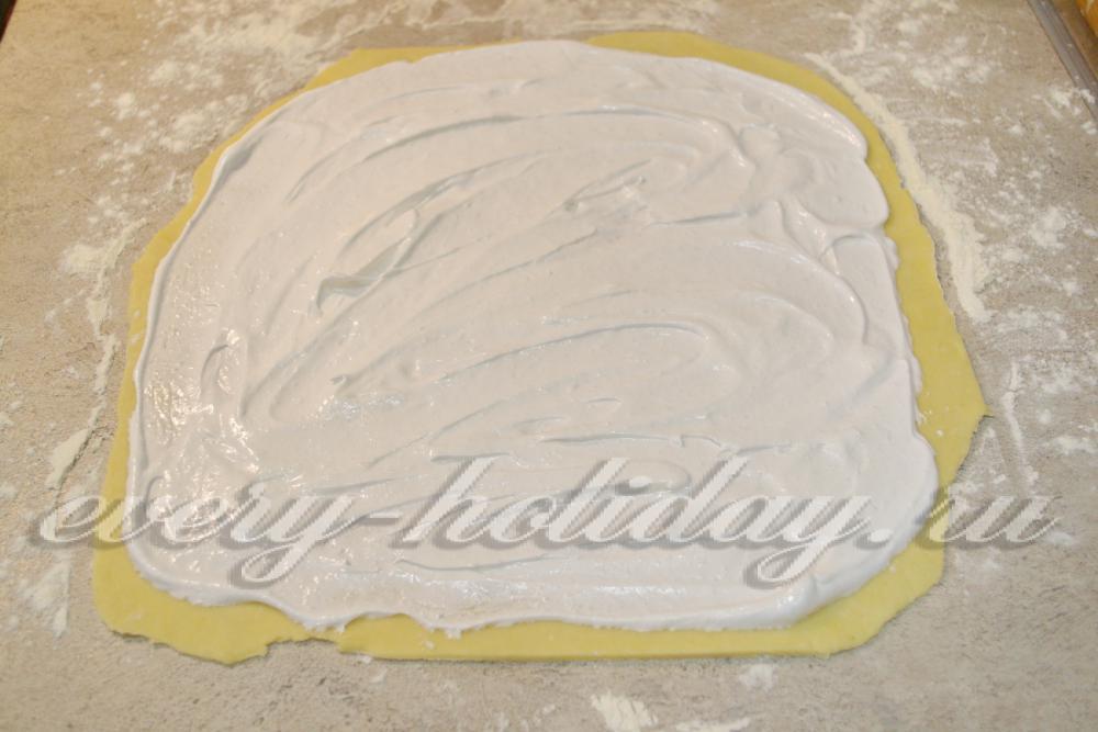 Печенье из творога розочки с безе пошаговый рецепт с
