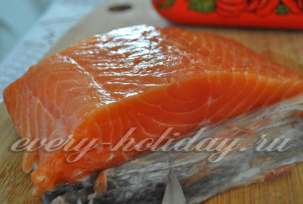 Как засолить рыбу в домашних условиях лосось 814