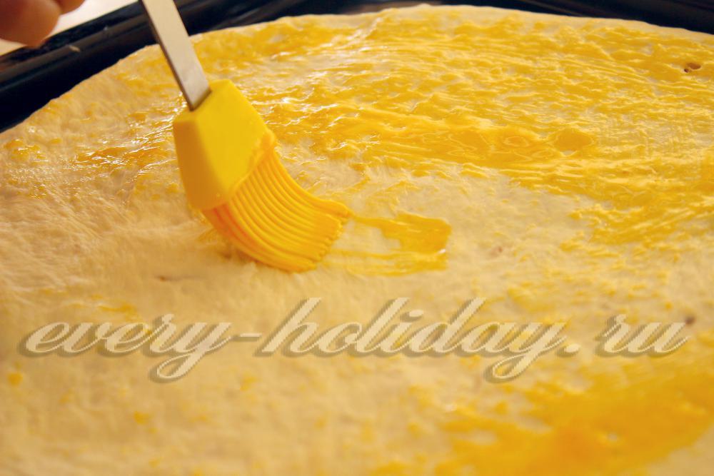 Как сделать яйцо для смазки пирога