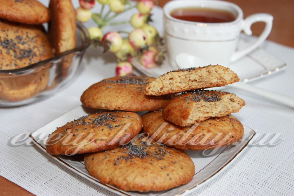 печеньки домашние рецепт с фото в духовке