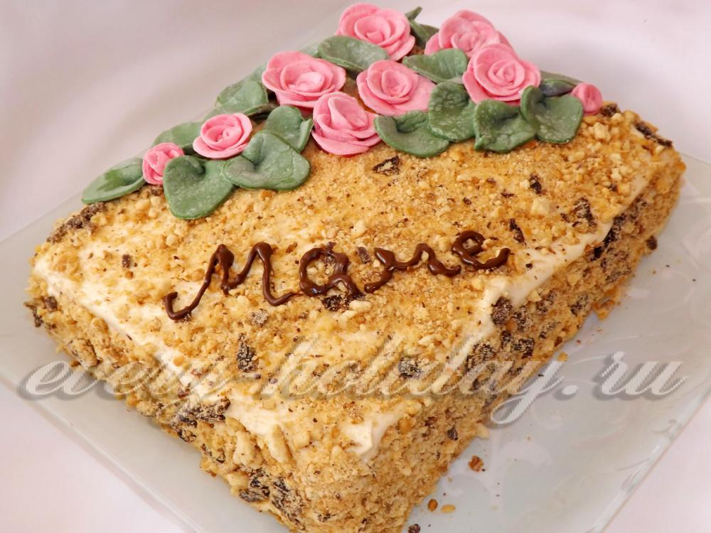 норвежский торт verdens beste kake рецепт