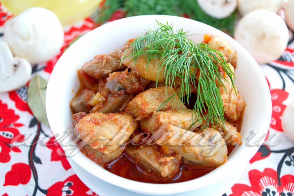 Рецепты рагу свинины 2