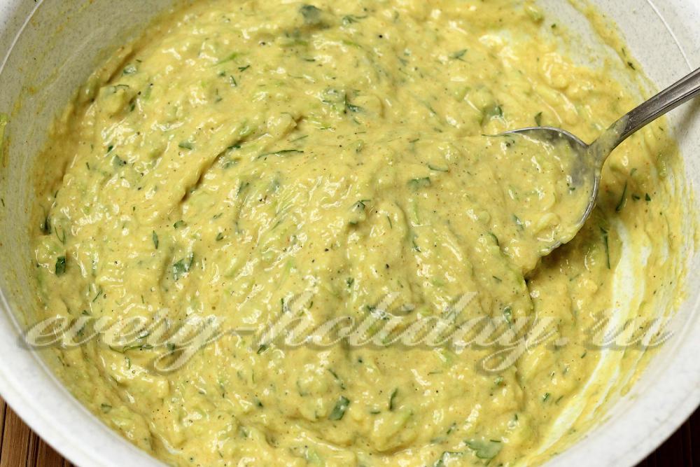 Кабачки манкой рецепт с фото