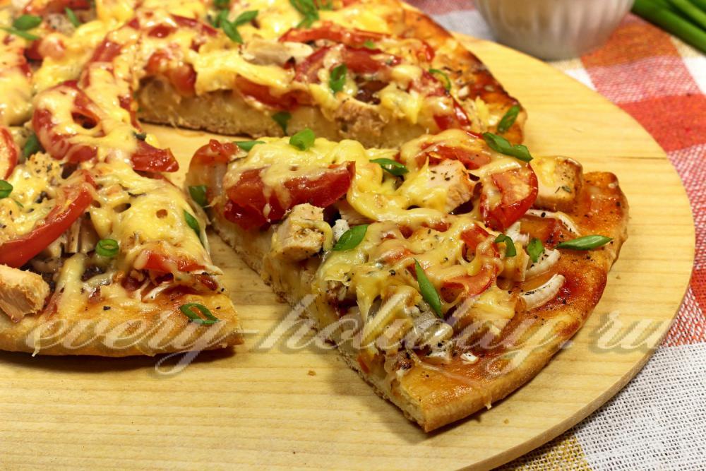 Вкусные рецепты пиццы на кефире рецепты с фото и приготовлениями