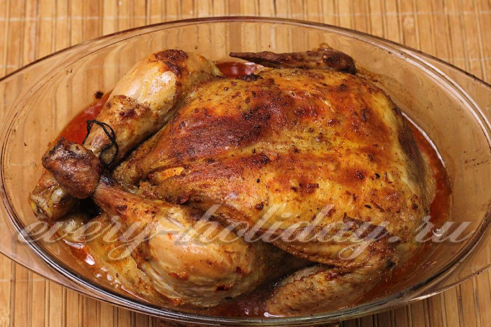 рецепт курицы с яйцом в духовке рецепт с фото