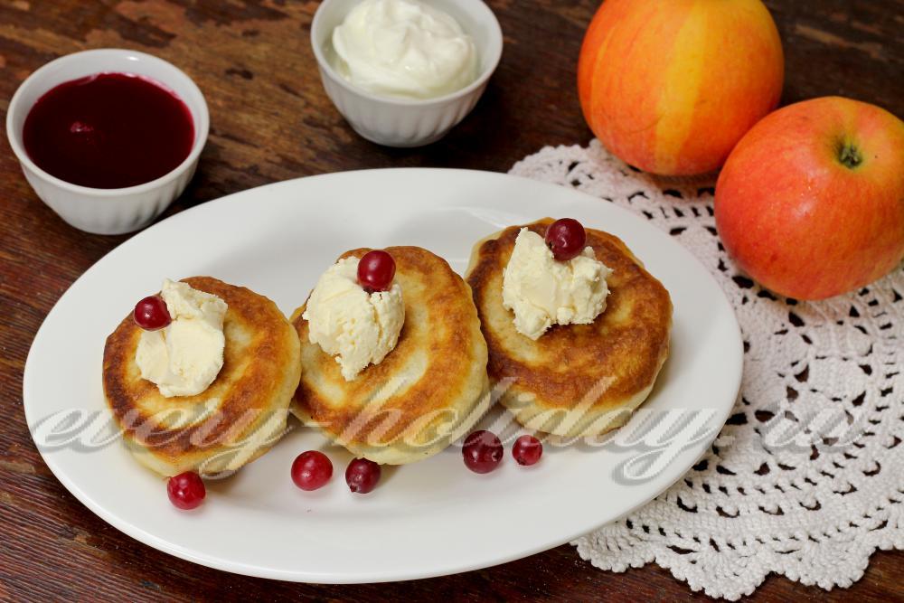 рецепт оладьев с яблоками в духовке