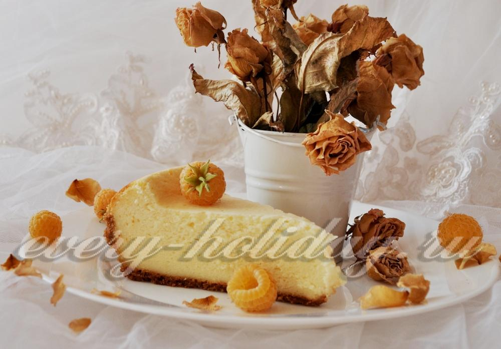 чизкейк рецепт с выпечкой фото