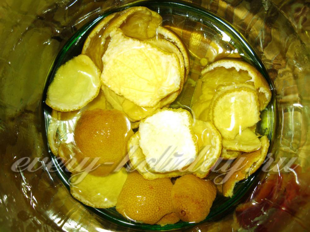 Ликёр из мандаринов в домашних условиях 764