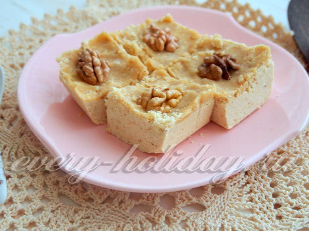 Дагестанская халва из муки рецепт с фото