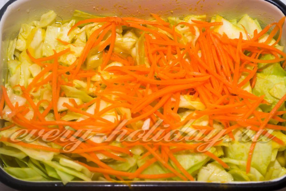 Капуста морковь рецепт в домашних условиях 184