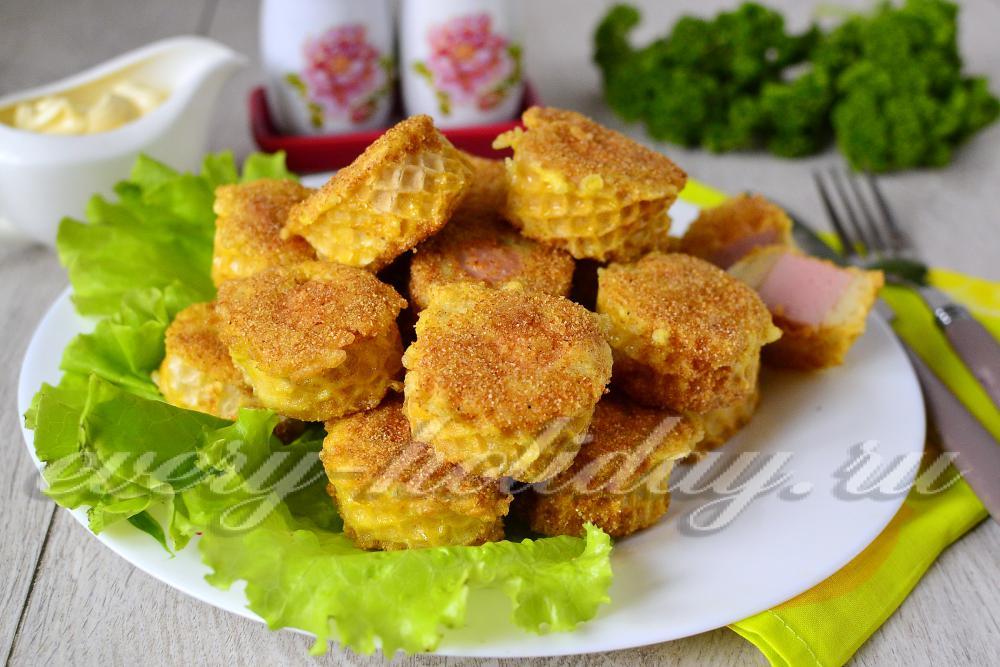 Закуски из коржей готовых рецепт с фото