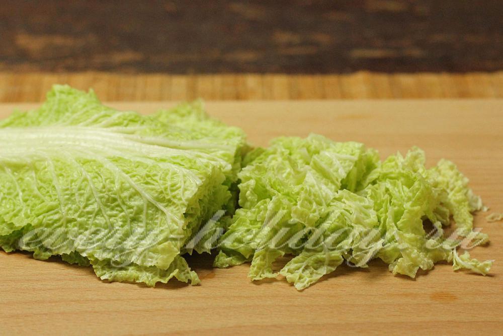листья пекинской капусты рецепты