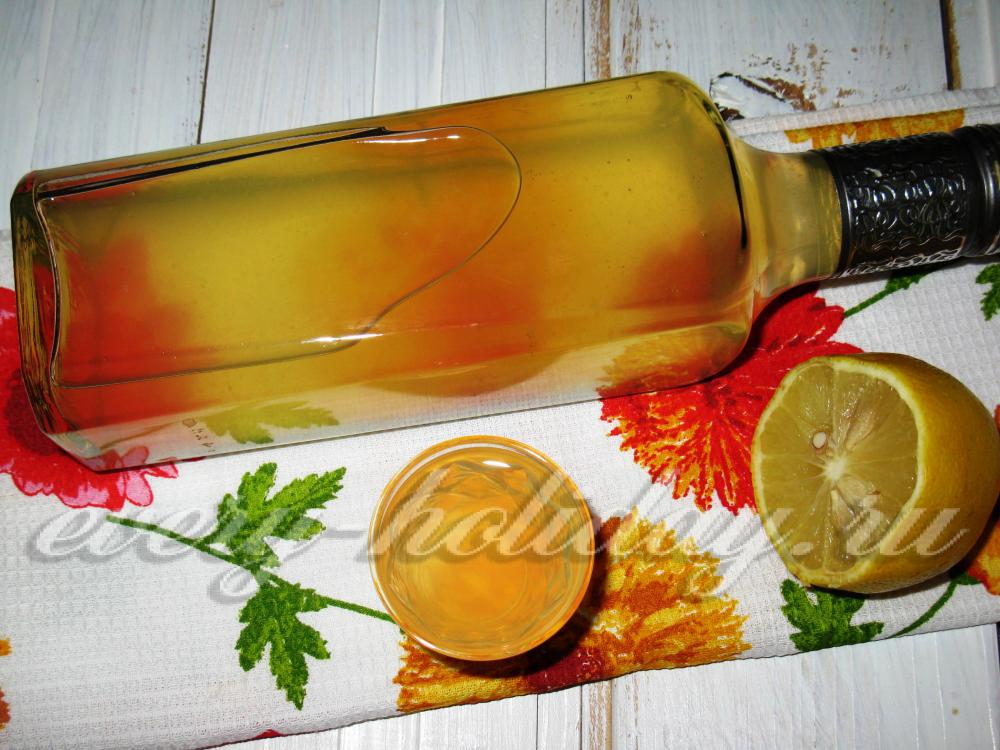 Как с лимона сделать водку