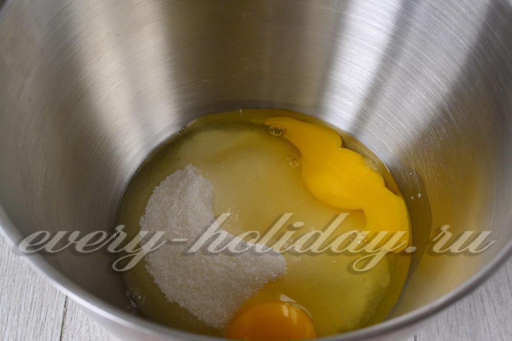 Рецепт из 3 яиц