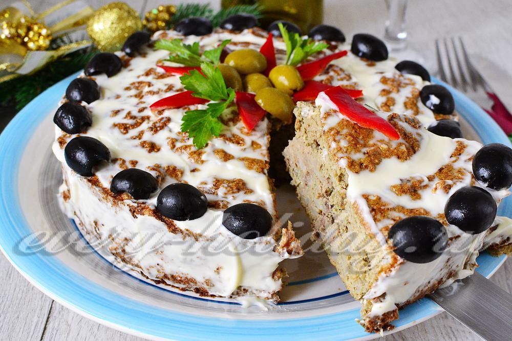 Печёночный хлеб - пошаговый рецепт с фото