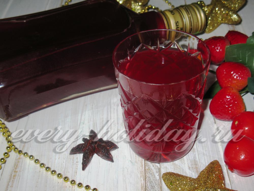Ликёр из ягод в домашних условиях простой рецепт 36