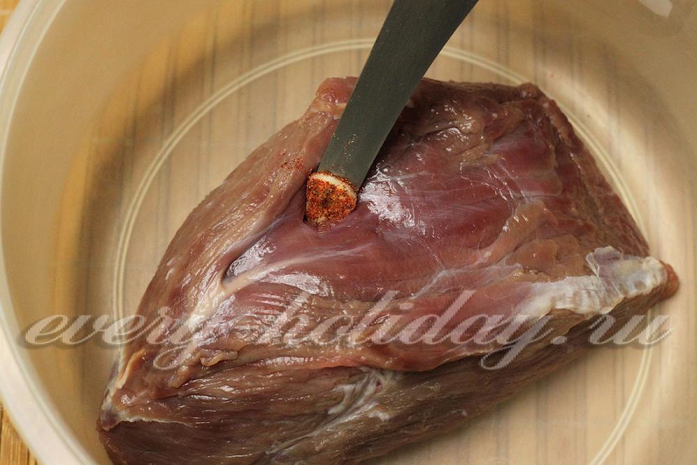 Мясо в фольге рецепт пошагово с