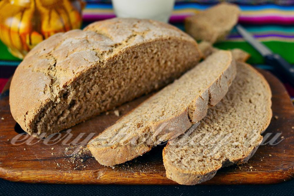 хлеб на кефире в мультиварке
